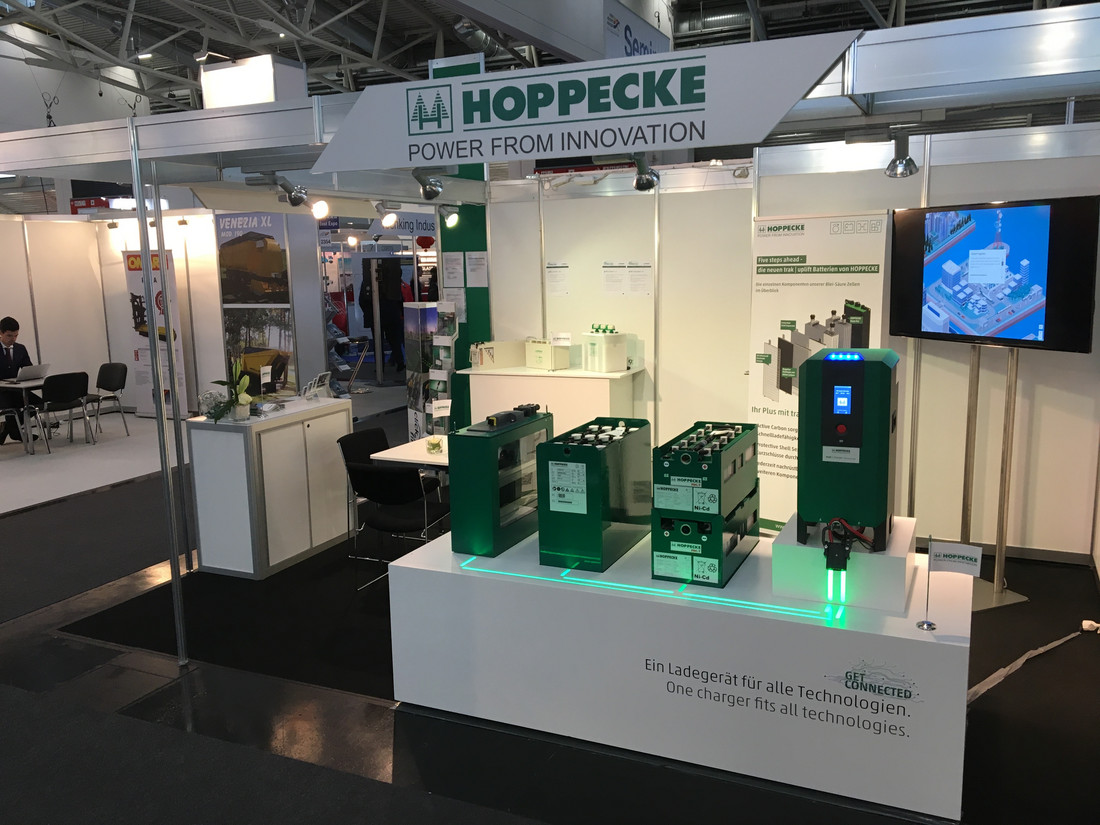 HOPPECKE at the inter airport Europe 2019 in Munich - Tuesday, 15.10.2019