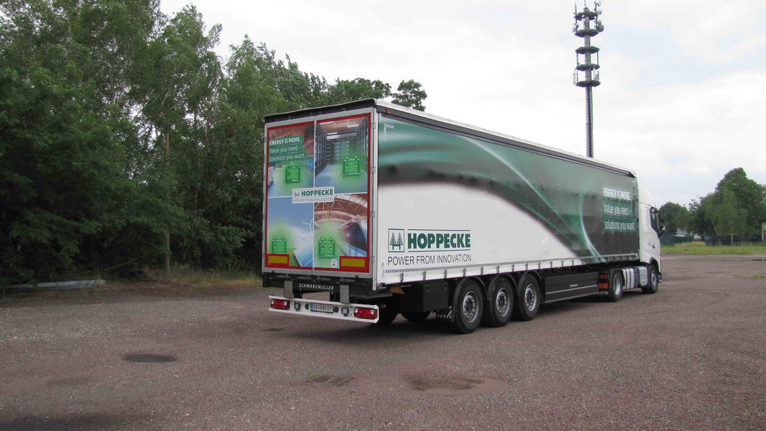 Germany's most beautiful truck: HOPPECKE Shuttle travels across the country every day - Monday, 14.05.2018