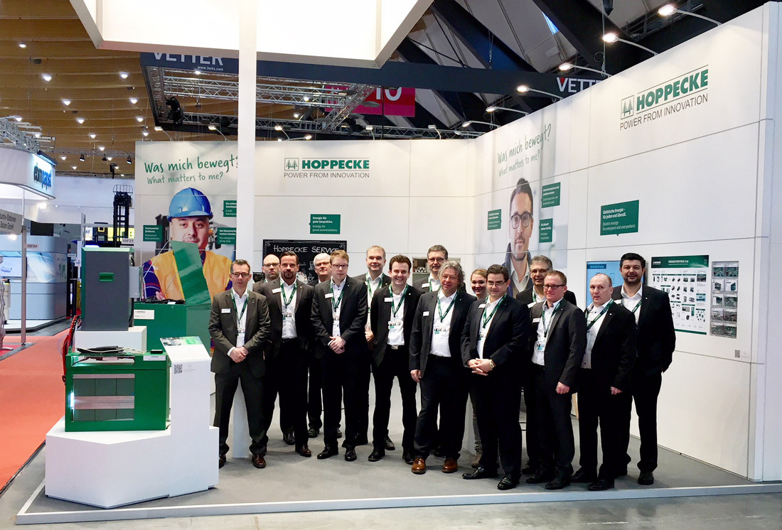 HOPPECKE kicks off the trade fair year with double start - Tuesday, 13.03.2018