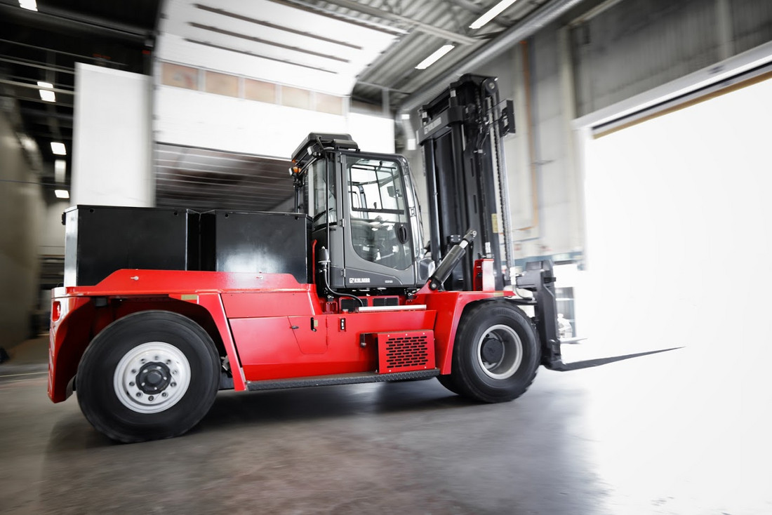 New Kalmar electric forklift: How to get the power into a large truck - Friday, 21.09.2018