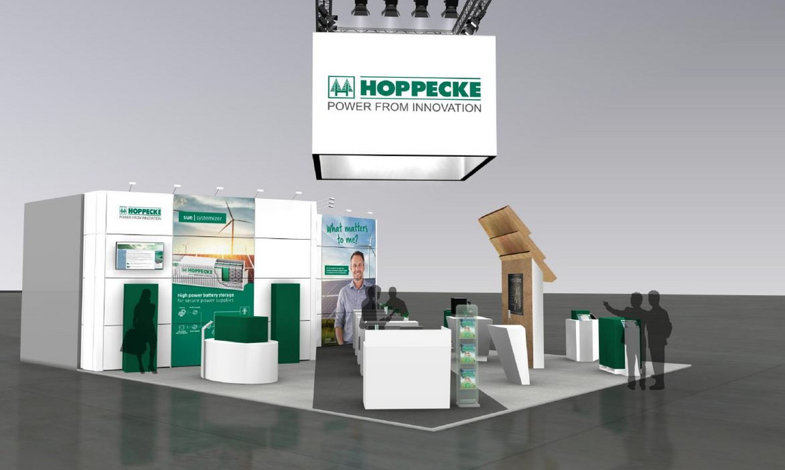 Intersolar 2018: HOPPECKE at the world's leading trade fair for the solar industry and its partners - Tuesday, 29.05.2018
