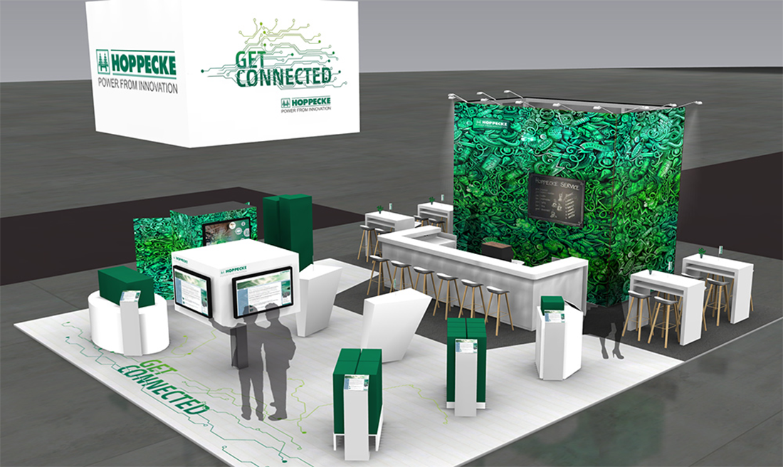 Get connected: HOPPECKE at the ees Europe 2019 in Munich - Monday, 13.05.2019